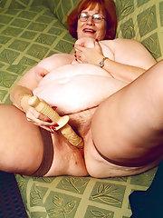 Naked granny Xxx fat